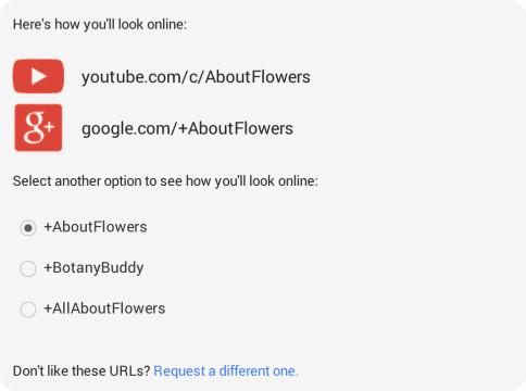Los usuarios de YouTube ahora podrán tener sus propias URLs