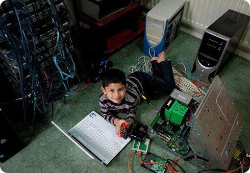 Niño de 6 años logra pasar una difícil prueba de Microsoft