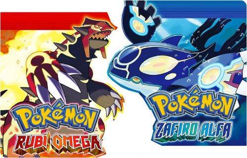 Pokémon Zafiro Alfa y Rubí Omega ya disponibles