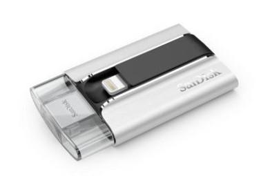 SanDisk iXpand una memoria flash para dispositivos iOS