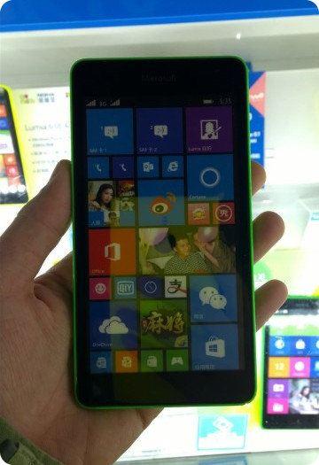 Se filtran datos y una foto del Microsoft Lumia 535