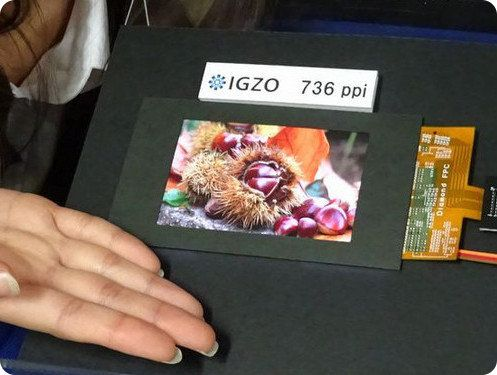 Sharp ha desarrollado una pantalla Quad HD de 4,1 pulgadas