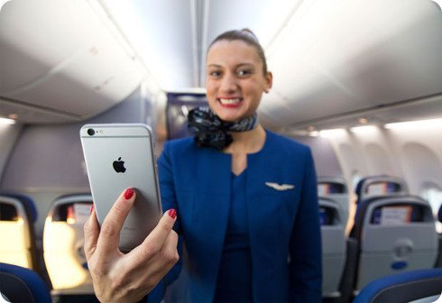 23.000 azafatas recibirán un iPhone 6