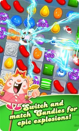 Candy Crush Saga ya está disponible en Windows Phone