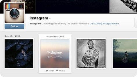 Instagram ya tiene 300 millones de usuarios