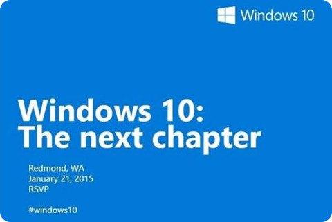 Microsoft anuncia un evento para el 21 de enero