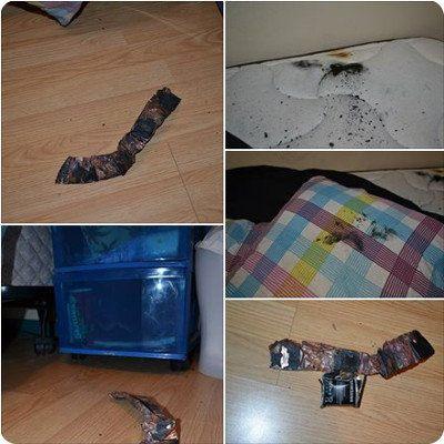 Nuevo caso de explosión de un Samsung Galaxy