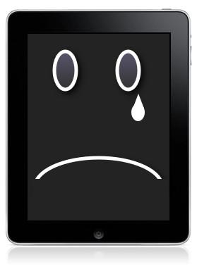 Bajan las ventas del iPad
