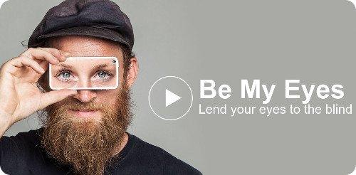 Be My Eyes: una aplicación para ayudar a personas ciegas
