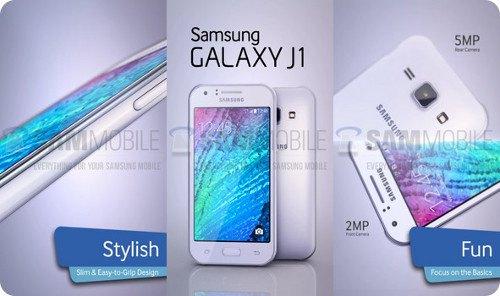 Galaxy J1: el nuevo smartphone de gama baja de Samsung