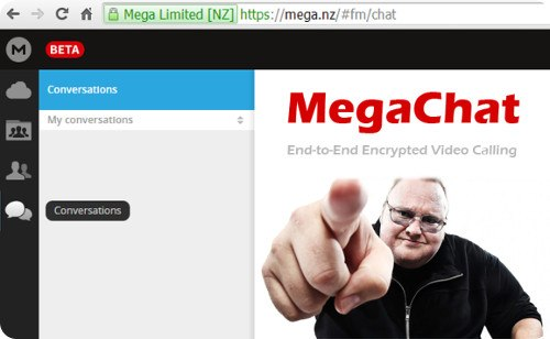 Kim Dotcom lanza MegaChat, el nuevo competidor de Skype