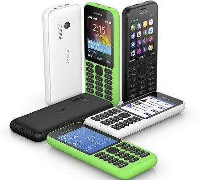 Nokia 215: un smartphone extremadamente barato
