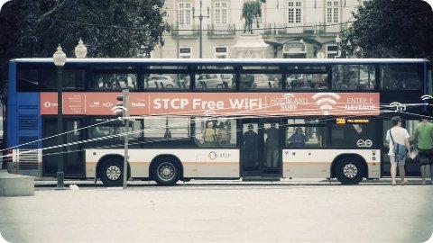 Portugal: los taxis y autobuses ofrecen WiFi gratis