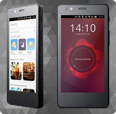 Así se ve el primer smartphone Ubuntu