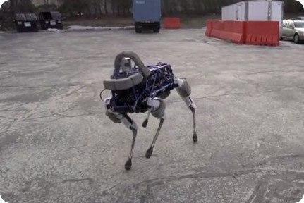 Conoce a Spot, el nuevo perro robot de Google