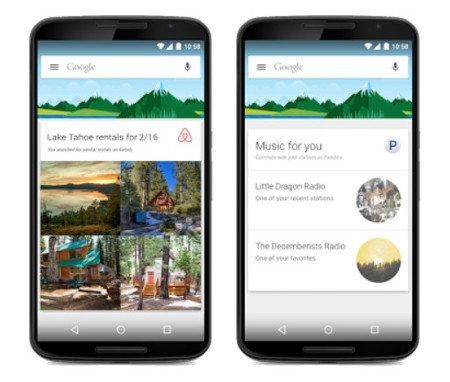 Google Now ya es compatible con más de 40 apps de terceros