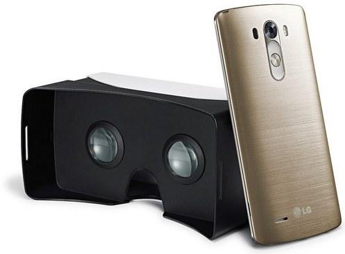 LG añade un casco VR a cada unidad del G3