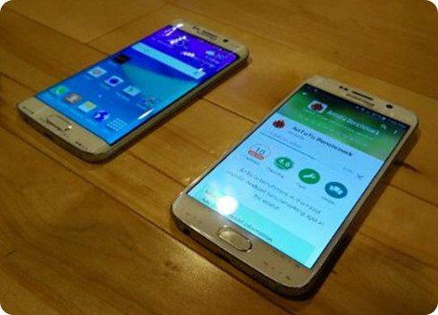 Nuevas fotos del Galaxy S6 junto al Galaxy S6 Edge