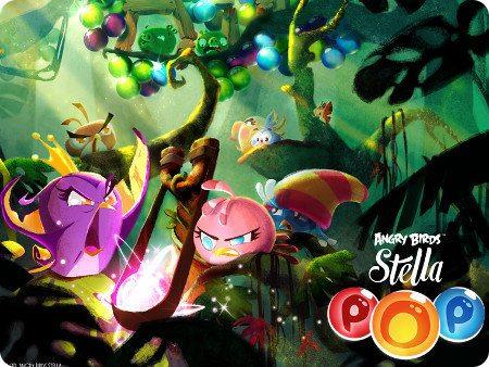 Angry Birds Stella POP lo nuevo de Rovio