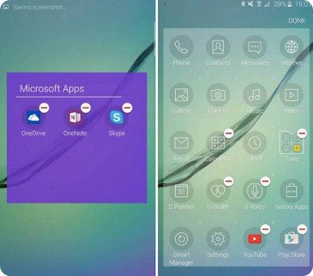 Los usuarios del Galaxy S6 podrán desintalar casi todas las apps preinstaladas