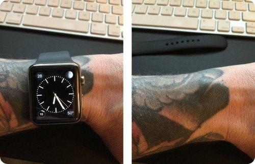Los tatuajes en la muñeca pueden interferir con el Apple Watch