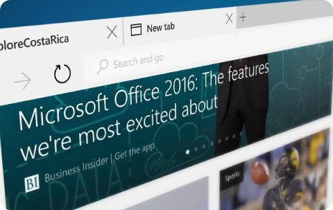 Microsoft Edge será el nombre del navegador Spartan