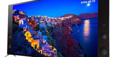 Sony lanzará nuevas TVs 4K extremadamente delgadas