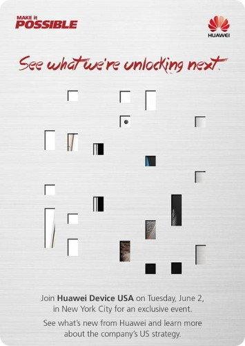 Huawei prepara un evento para el 02 de junio