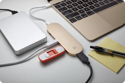Hub el accesorio ideal para la nueva MacBook