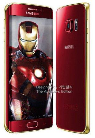 Samsung lanzará una versión Iron Man del Galaxy S6 Edge