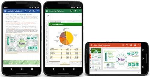 Ya está disponible la versión preliminar de Office para smartphones Android