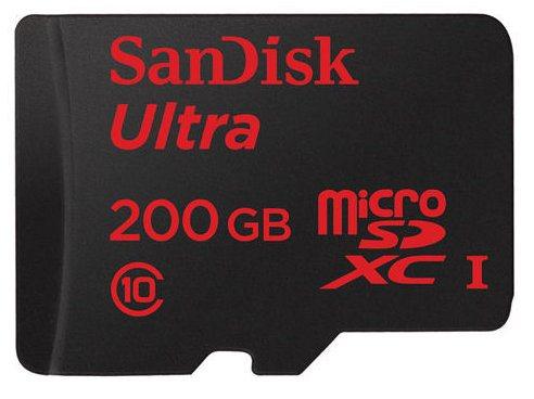 La microSD de 200 GB de SanDisk es más barata de lo esperado