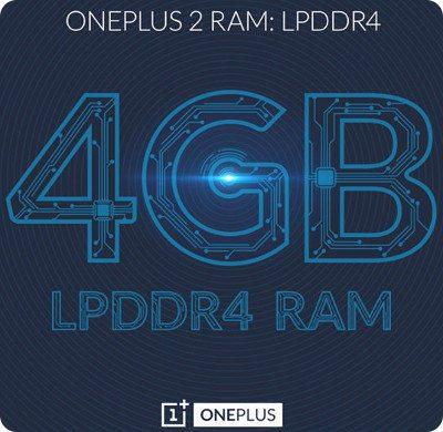 Confirmado el OnePlus 2 tendrá 4 GB de RAM