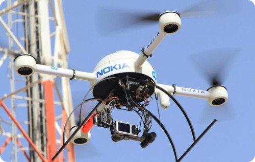 Nokia podría usar drones para reparar sus redes