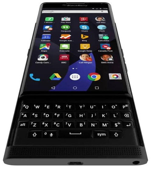 BlackBerry Venice: se filtra el diseño del nuevo slider Android