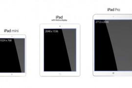 El iPad Pro entraría en producción en octubre