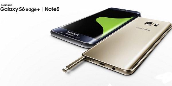 Galaxy Note 5 y Galaxy S6 Edge