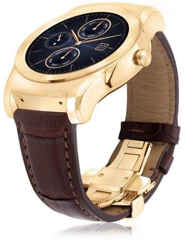 LG Watch Urbane Luxe: un smartwatch de lujo con oro de 23 kilates
