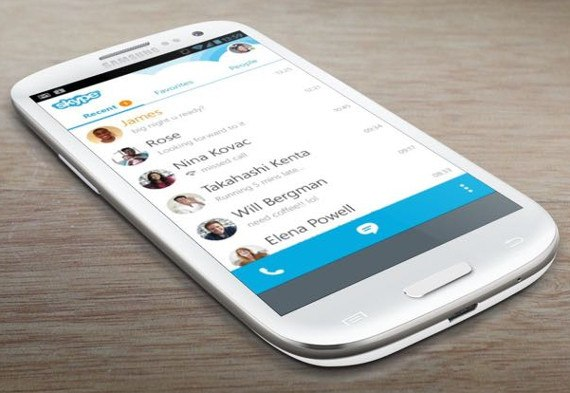 Skype 5.10 ya disponible para Android