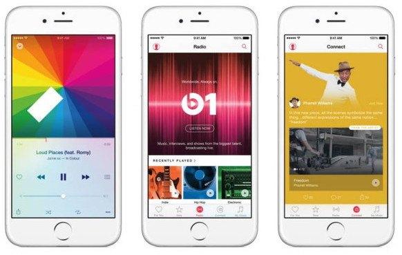 Apple Music ya tiene 15 millones de suscriptores