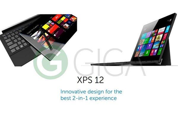Dell XPS 12 una nueva tableta 2 en 1 de 12 pulgadas