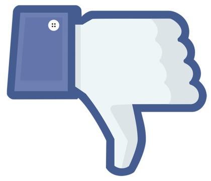 Facebook está preparando un botón de No me gusta