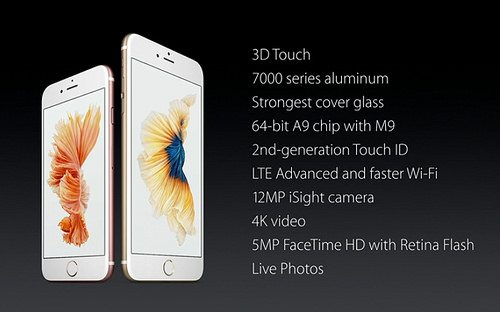 iPhone 6s y 6s Plus