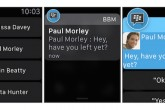 BBM llega al Apple Watch