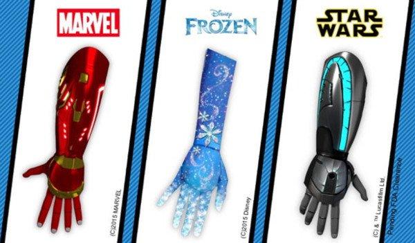 Disney anuncia varias prótesis de Iron Man, Star Wars y Frozen