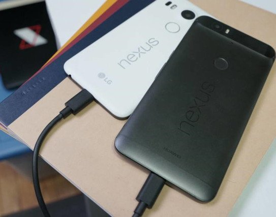 Los Nexus 5X y 6P se pueden recargar entre sí