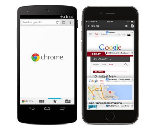 Chrome para móviles llega a 800 millones de usuarios activos