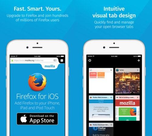 Firefox ya está disponible en iOS