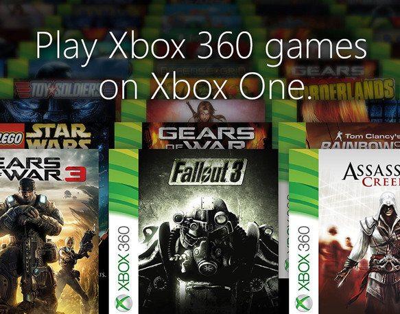 La Xbox One pronto será compatible con 104 juegos de la Xbox 360