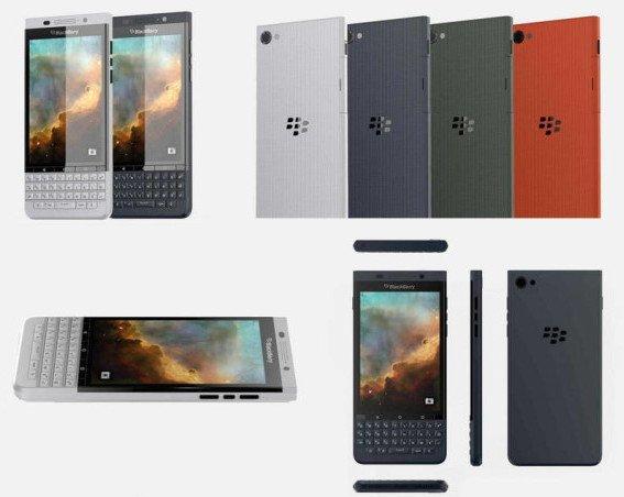 Se filtran imágenes del BlackBerry Vienna con SO Android